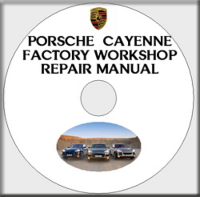 Product picture PORSCHE CAYENNE 2003 2004 2005 2006 2007 2008 SERVICE REPAIR FACTORY WORKSHOP MANUAL - AS USED AT PORSCHE DEALERSHIP GARAGE - RARE CHANCE TO OWN THE MANUAL - PDF DOWNLOAD