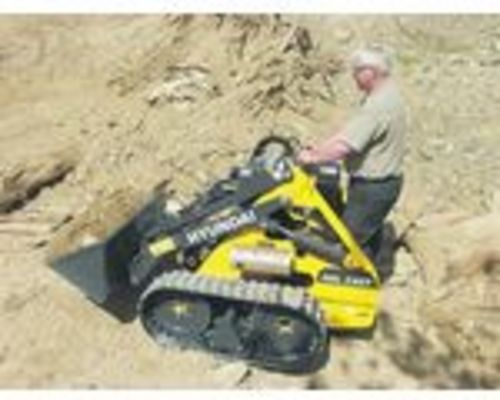 Product picture Skid Steer Loader HSL215T HSL2 OPERATION OWNER MANUAL & parts manual
